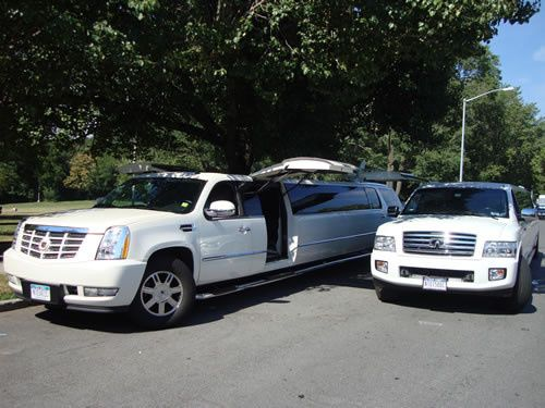 Tmx 1486779739177 Escalade Limo And Qx56 New York, NY wedding transportation