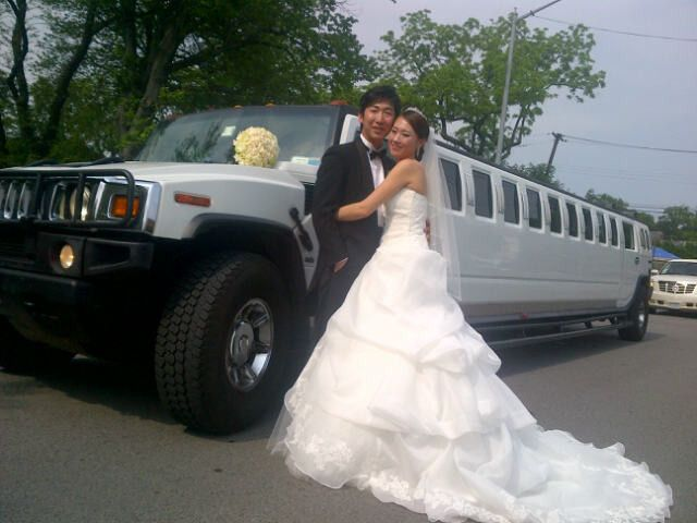 Tmx 1486779766557 Hummerwedding2 New York, NY wedding transportation