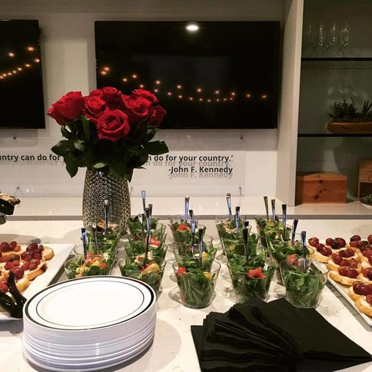 Buffet and Decor