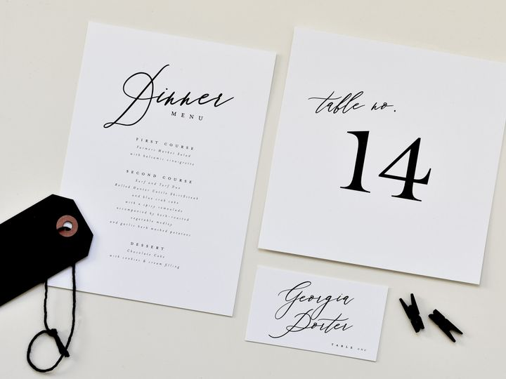 Tmx Calligraphy Whimsical Day Of2 Edit 51 519986 Fort Mill, SC wedding invitation