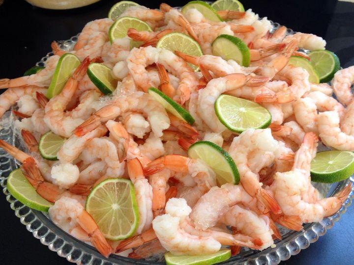 Tmx 1417466919473 Shrimp Burke wedding catering