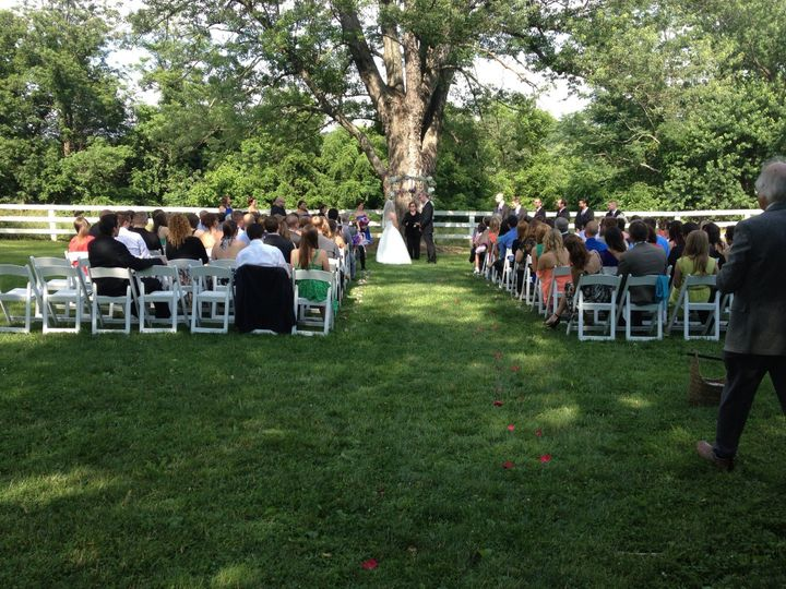 Tmx 1431530245803 Briar Patch Ceremony 2 Burke wedding catering