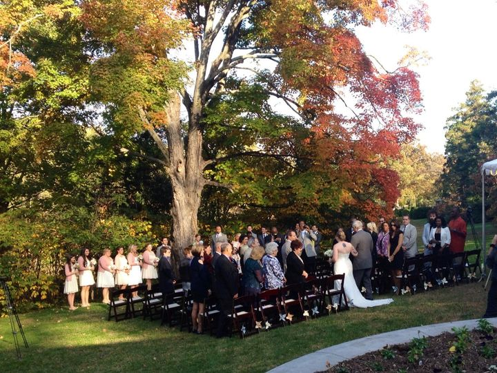 Tmx 1431530656897 Hendry House Ceremony With People Burke wedding catering