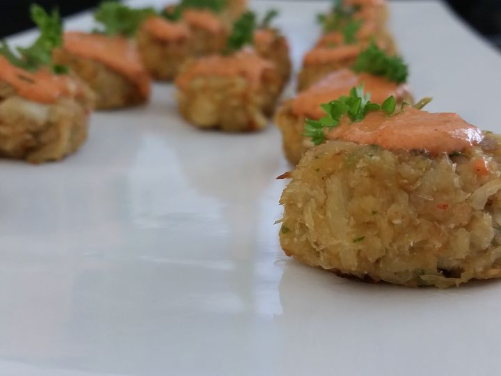 Tmx 1496178843132 Crab Cakes Burke wedding catering