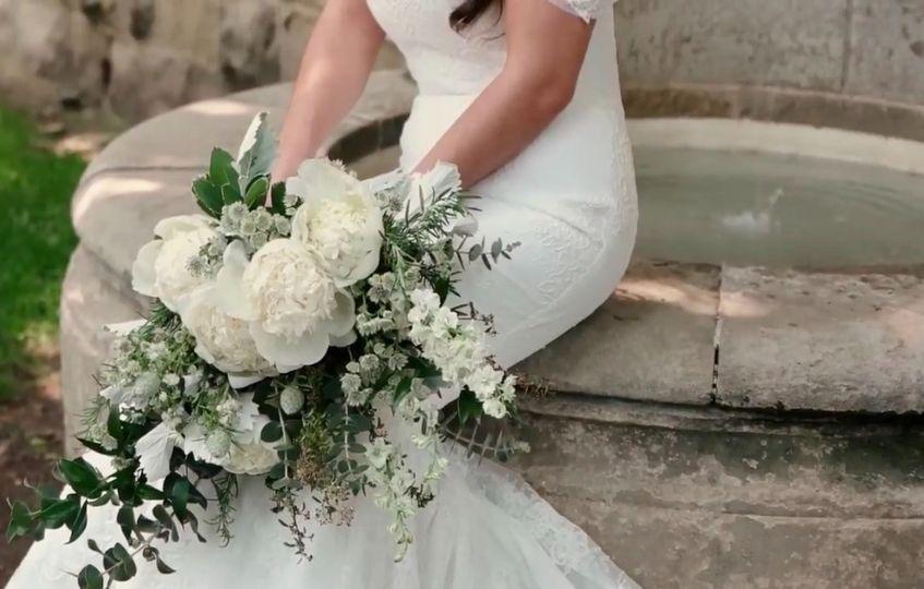 Elegant Bride Bouquet