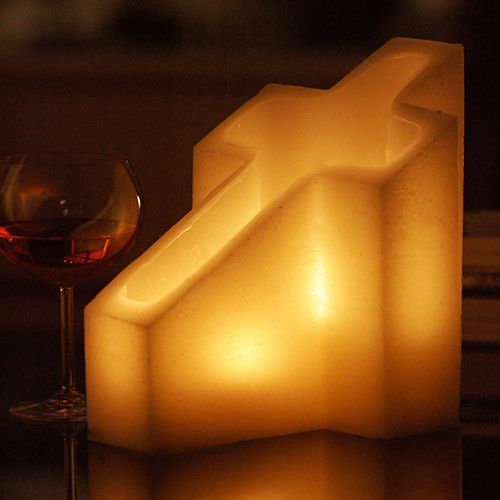 q candles led flameless hollow candles custom cand