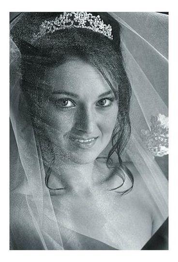 Creative portrait wedding photography