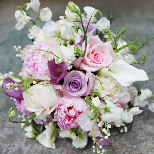 Lux Spring Bridal Bouquet