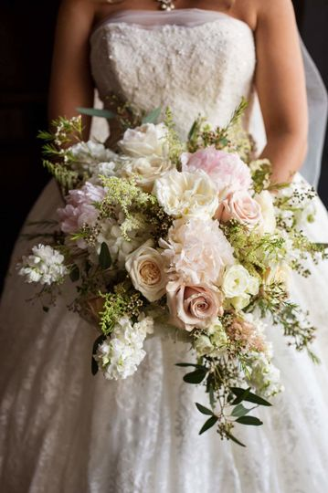 High End Cascading Bouquet