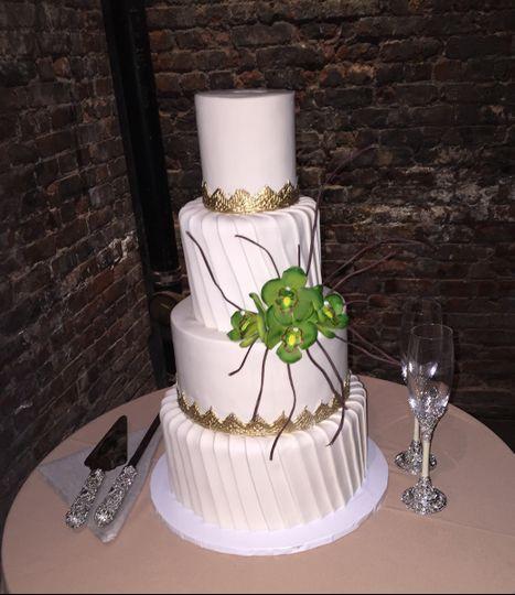 Chic Sugars Wedding cake