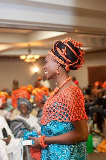 Elegant Nuptials Bride | Nigerian Traditional Wedding - Edo Bride
