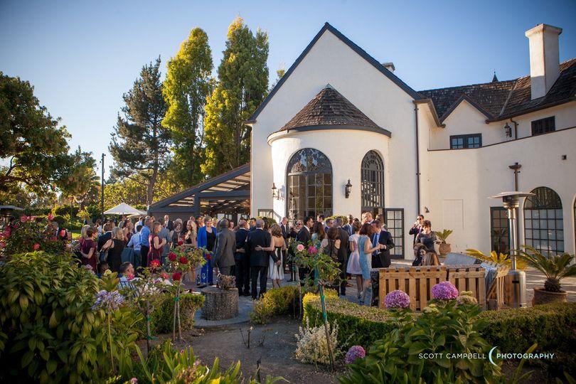 Wine Garden Wedding