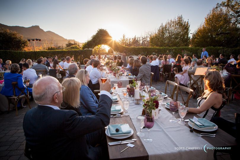 Wine Garden Wedding