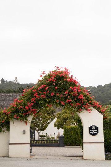 Wine Garden Entry