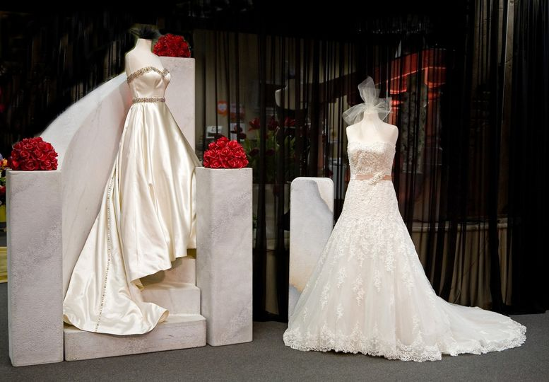 Classic gowns from Justin Alexander and David Tutera  in stock at Bella Amore Bridals in Bossier...