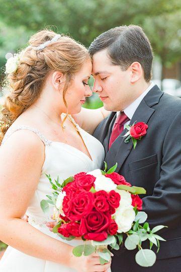 Sarah + Jonathan's wedding in Fairfax Virginia.