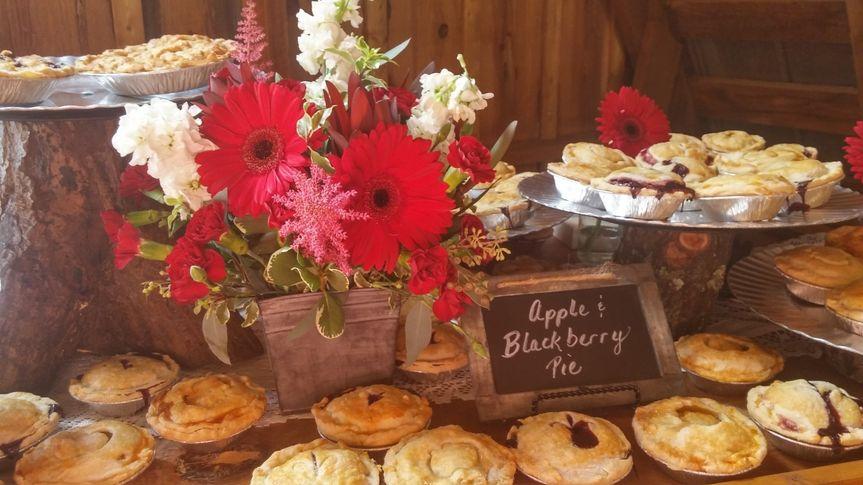 Assorted Wedding Pies