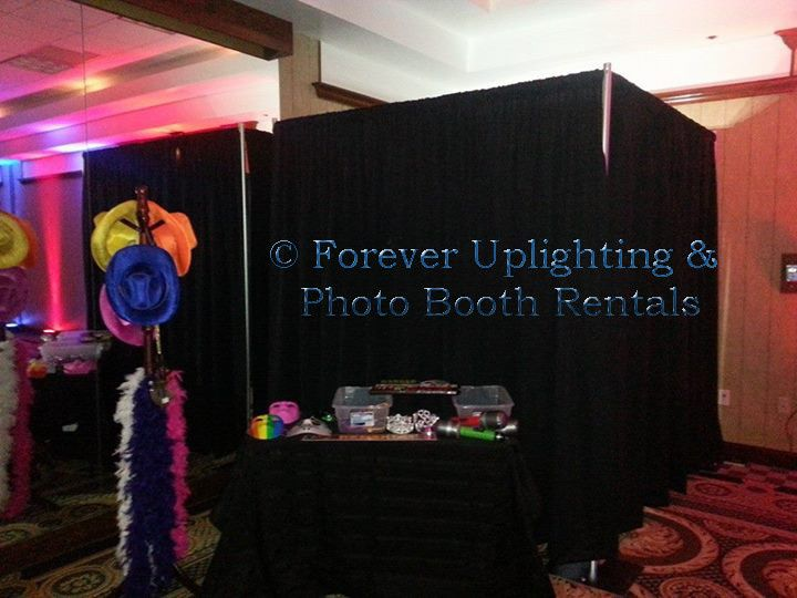 forever uplighting photo boot