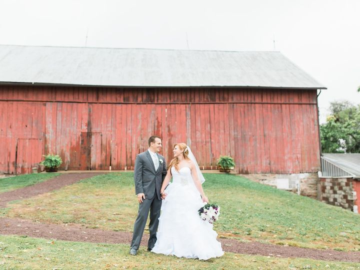 Tmx 1502145341957 Barn At Hidden Acres Wedding 2110 Bloomsburg, Pennsylvania wedding dress