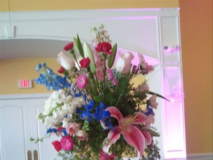 Tmx 1332533629612 20110625DecknickGuestTablesTall Sterling, District Of Columbia wedding florist