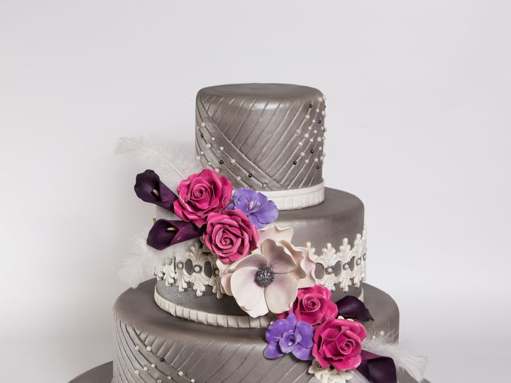 Tmx 1415997292210 W505 Hoboken wedding cake