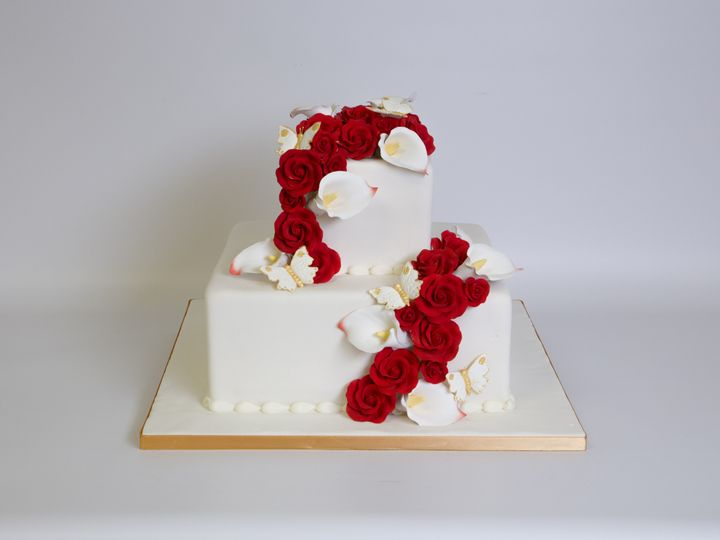 Tmx 1415997497171 W510 Hoboken wedding cake