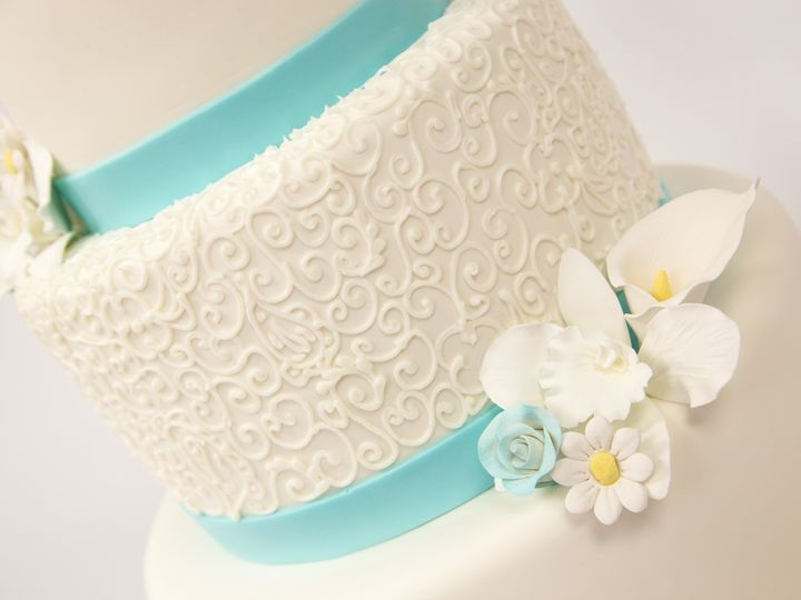 Tmx 1415998235402 W541 1 Hoboken wedding cake