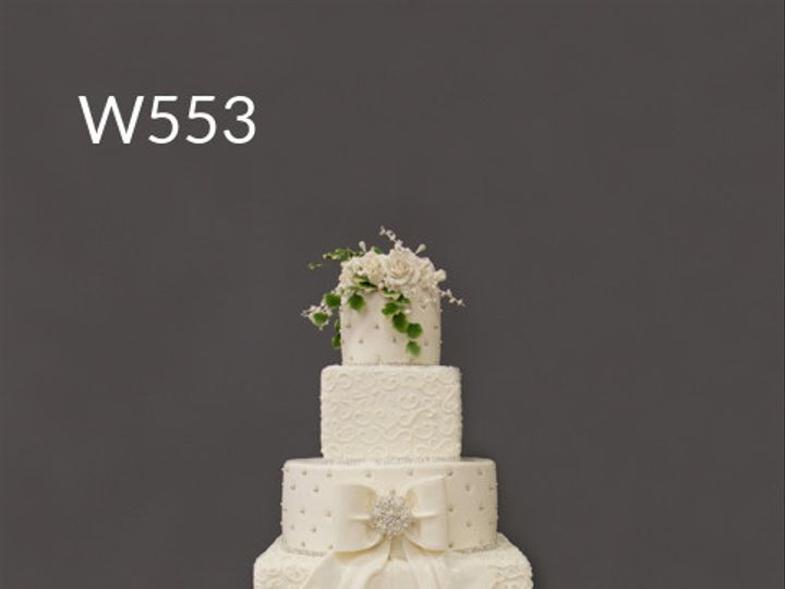 Tmx 1415998924735 W553 Hoboken wedding cake
