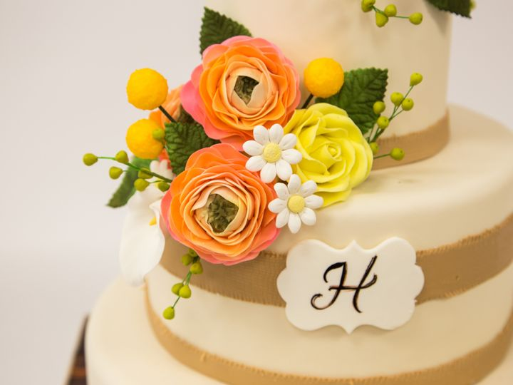 Tmx 1415999238211 W562 1 Hoboken wedding cake