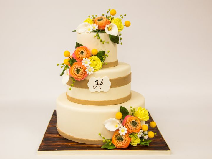 Tmx 1415999330799 W562 Hoboken wedding cake