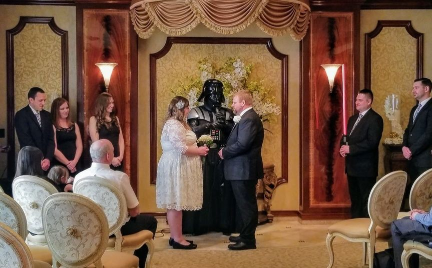 Star wars theme wedding