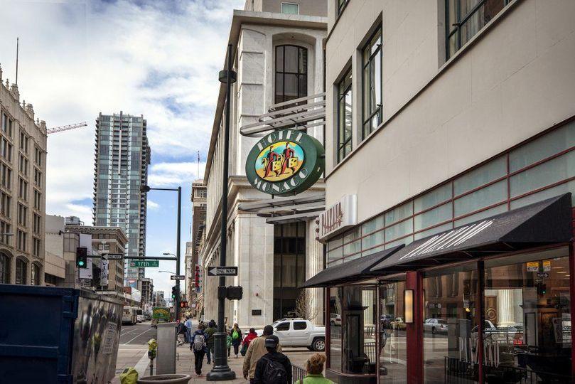 Exterior view of Hotel Monaco Denver/Panzano