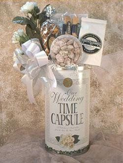 Wedding Time Capsule - We've taken this 22 piece timeless gift and turned it into a beautiful gift...