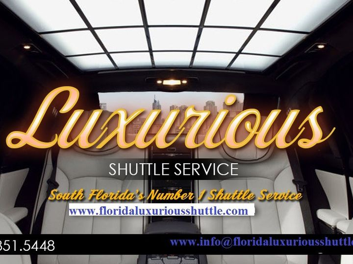 Tmx 1434645598889 Luxurious Buines Card Fort Lauderdale wedding transportation