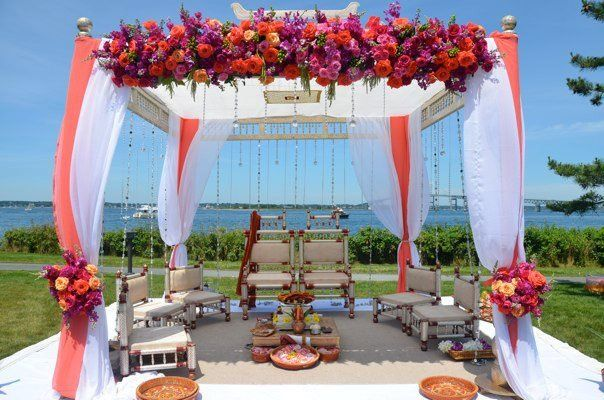 Tmx 1358971151504 35Indianweddingcoralandpinkflowers Providence, Rhode Island wedding florist