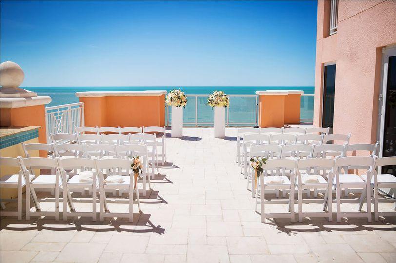 Caladesi Terrace Ceremony