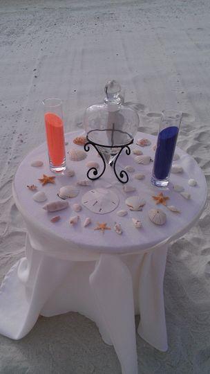 large beach sand table