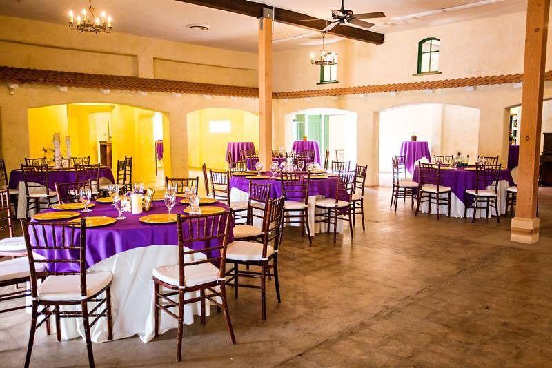 Violet tables