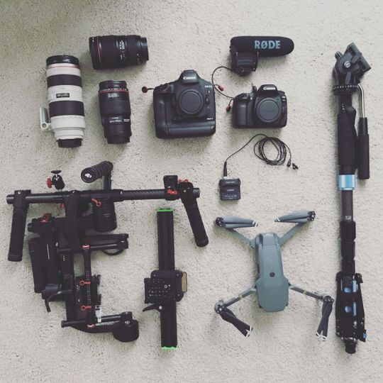 My wedding kit.