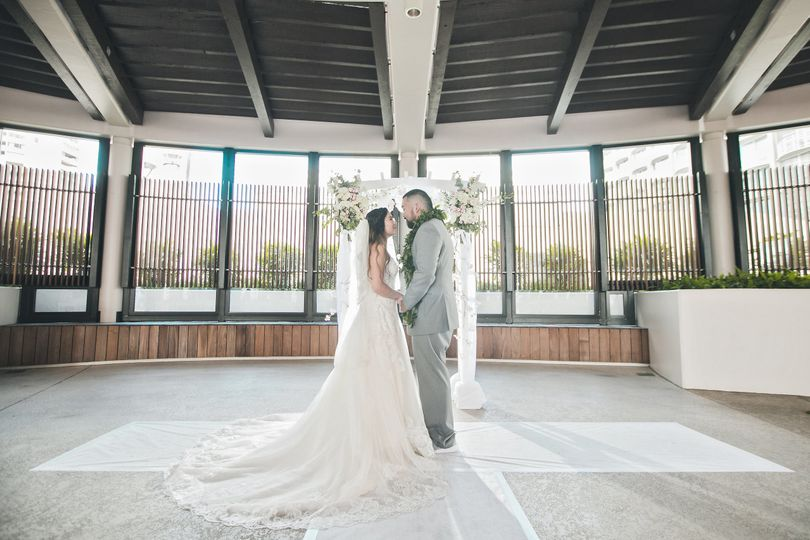White wedding dress | Mike Pham Photography