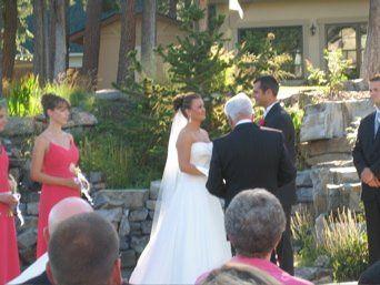 Helm Courtyard Wedding Ceremony