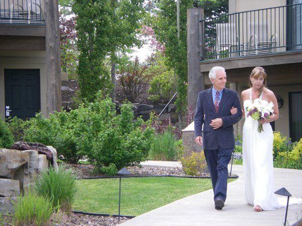 Campbell Wildes Wedding - Courtyard