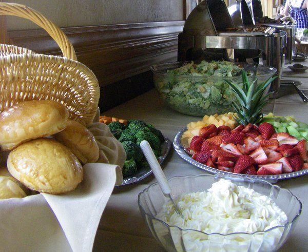 Wedding Reception Buffet - Campbell Wildes Wedding Terra Steakhouse