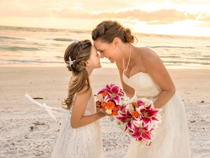 Wedding with mom
