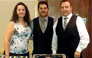 Joe Pellegrino, Steve and Christie Bowley