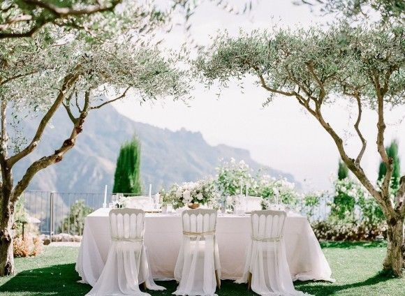 Reception table in nature