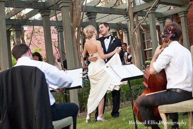 classical charleston wedding reception