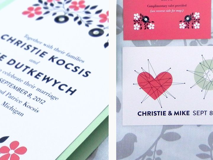Tmx 1496247452919 Christie And Mike 04 Warren wedding invitation