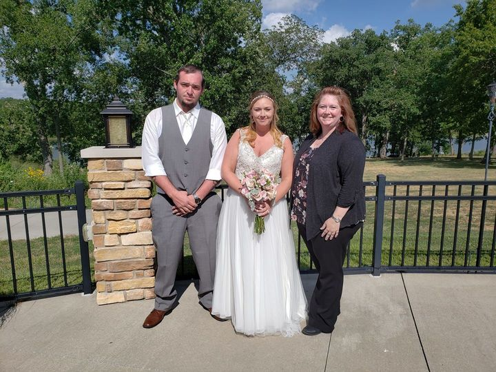 Tmx 1538447663 2f2f88e9aceff3e9 1538447661 C6d5f819ede1edd3 1538451266178 1 Shearer Wedding    Oskaloosa, IA wedding officiant