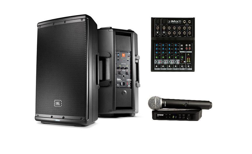 Sound System Rental Package
